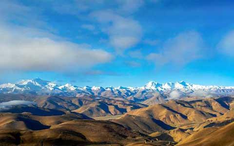 Himalaya Berge Karte.Tibets Berge Schockierender Berg